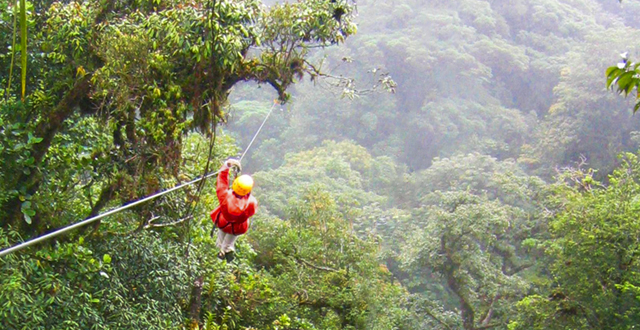 Costa Rican zipline by Micah MacAllen