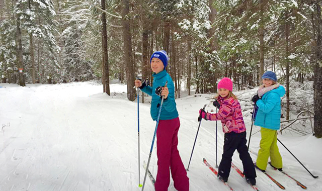 cross-country ski photo