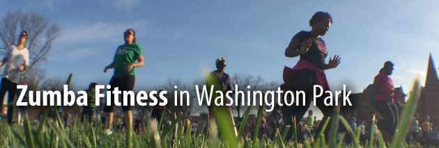 Zumba at Washington Park
