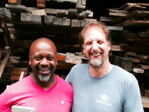 Theaster Gates and Ken Leinbach