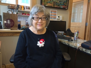 Menomonee Valley branch receptionist Sybil Rockwell