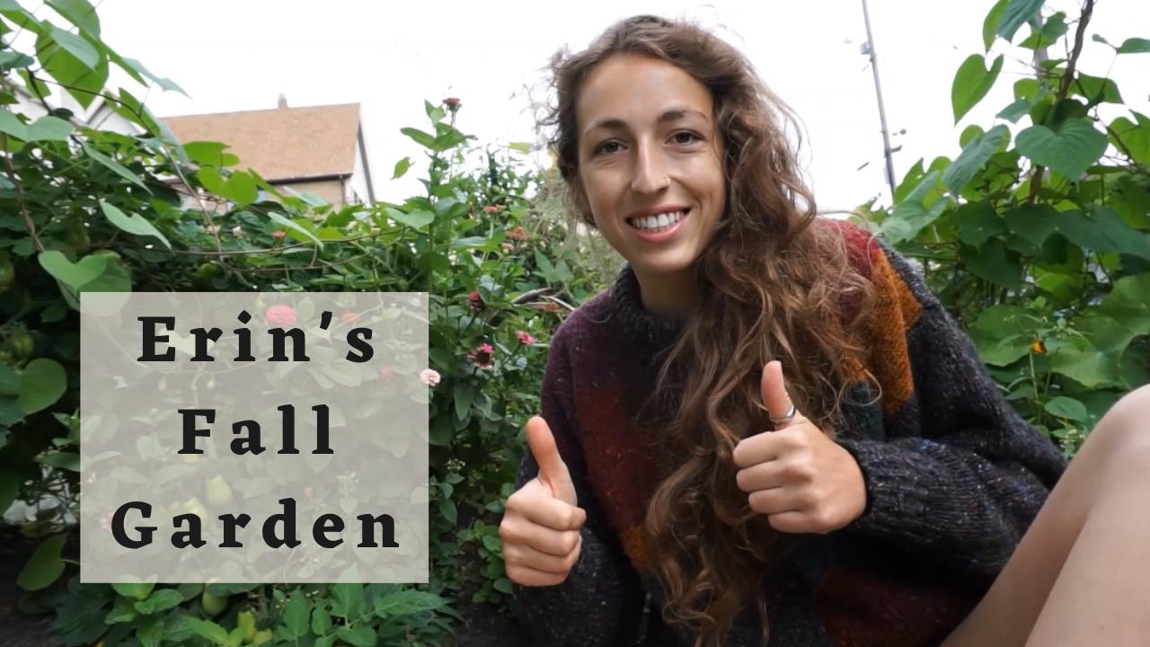 Erin's Fall Garden