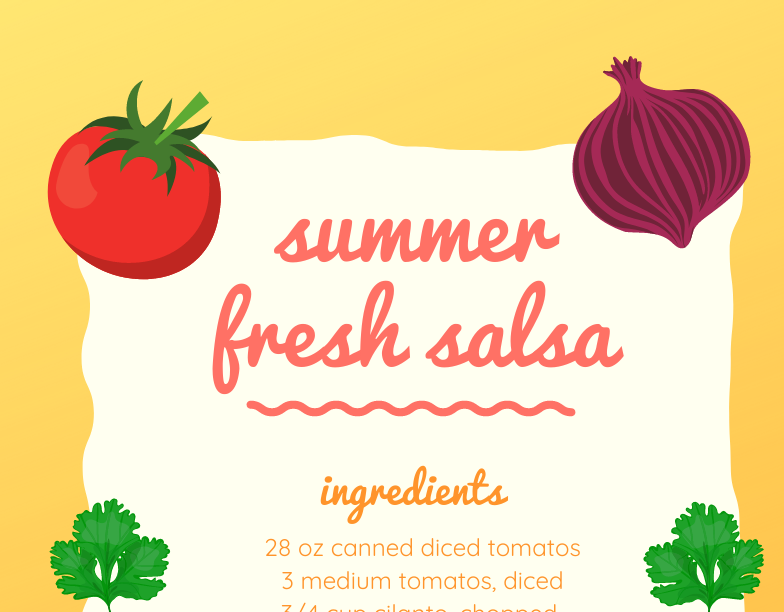 Summer Fresh Salsa Recipe