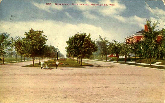newberry postcard