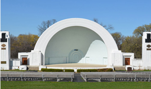 washington park bandshell