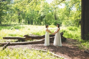 Wedding at Riverside Park. Photo: Jason Worrell Photography