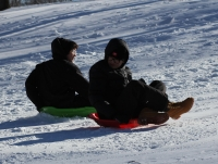 Get Outside and Play: Come Sledding with Us!