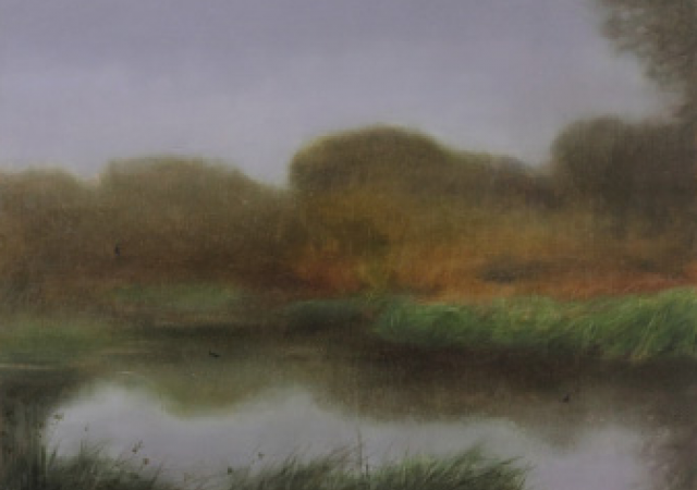 Bats Over the River - Timothy HaglundOctober through December 2014 - Riverside ParkFrom the show