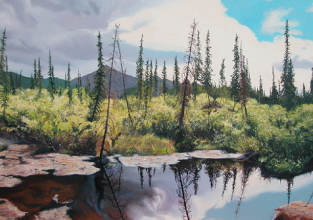 Kevin MuenteApril through June 2015 - Riverside ParkFrom the show
