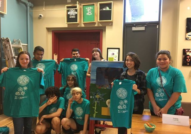 Changing Our World Through Art: The Work of Escuela Verde's Youth Artivists September – November 2018 - Menomonee Valley