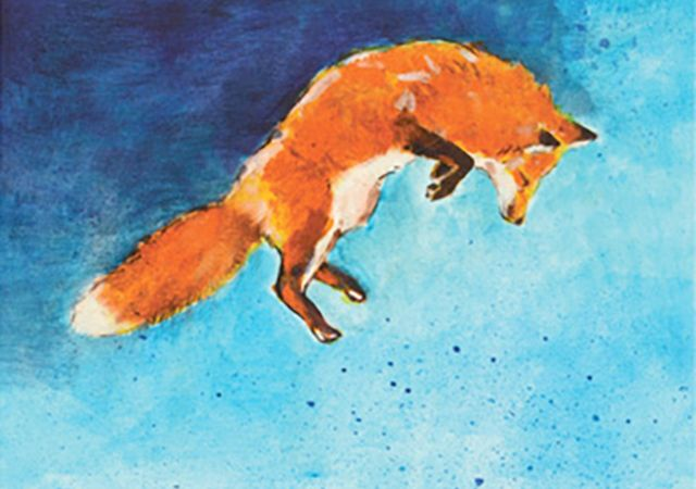 Jumping Fox - James SteenoJuly through September 2016 - Riverside ParkFrom the show
